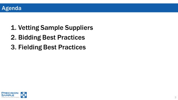 Buy Sample Like a Sample Company: A Sample Buyers Guide – Part 1